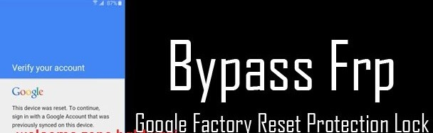 FRP lock Google Verification Bypass Tool